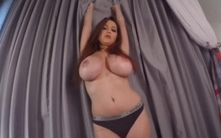 Tessa Fowler Getting Horny Shaking Her Boobs in Your Face