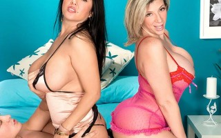 Daylene Rio and Sara Jay big juggy adventure