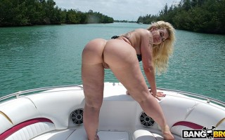 Ryan Conner doing anal in a wild boat ride