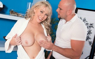 A Busty Milf Goes For A Rub-down