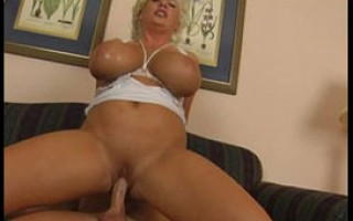 Claudia-Marie rides a thick cock for her Birthday.