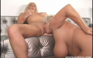 Claudia-Marie eats Karen Fisher's shaved pussy
