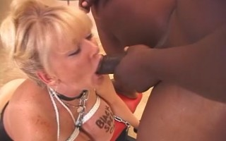 Blonde huge tit MILF gets her titties tied up, spanked, and writes degrading messages on her big tits, but feeling his body spasm as he pumps his DNA into her makes it all worth for her.