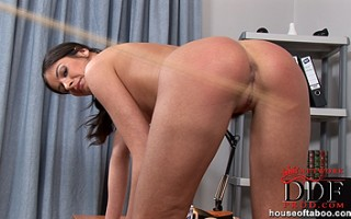 The peppering of Lucy Lee\'s gorgeous round and fuckable ass!