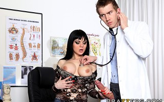 Anastasia only has a couple hours left to live and decides she doesn't want to die a virgin. So she asks Dr. Danny D to fuck every hole on her body - including her ass!