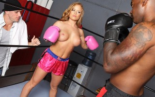 Nikki is a boxer who has two things; a lot of heart and a lot of tit. Johnny is a renowned retired boxer who is the best trainer in the land. Only problem: he doesn't train girls. The reason being a pair of magnificently plump and distracting tits that co