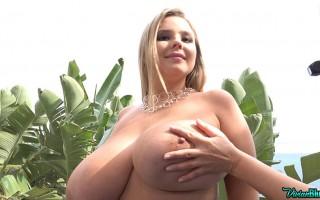 Secretly-Molested-Busty-Model Vivian Blush