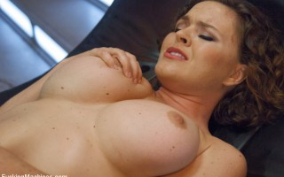 Two dicks for two holes - Krissy Lynn and her DP fetish. She like the porn energizer bunny - she takes a fucking and keeps on cumming!