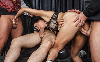 Deep within the castle of Dr. Frankendick, the monster Frankendick has too big a cock to fuck whores in the ass with. Dr. Frankendick must create a slut who can handle Frankendick\'s monstrous cock! But this slut loves cock so much she can\'t get enough o