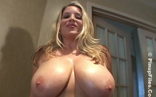 Jana Defi and Maggie Green Fun Showing the Huge Yummy Treasure Titties