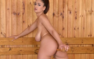 Sweat Beads and Boobs - Sauna Dildo Dilemma
