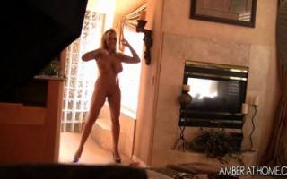 Amber Lynn Bach is a total exhibistionist and loves to masturbate in front of people.